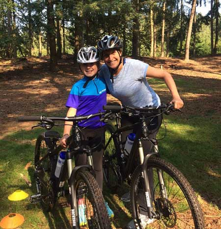 ouder kind mountainbike clinic